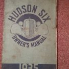 Vintage 1935 Hudson Six Owners Manual  070716439