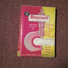 Vintage 1961 Starett Tool Catalog Third Edition NO 27  070716445