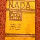 VIntage NADA Offiicial Car Guide Eastern Ed. August 1973 070716474