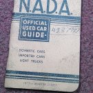 VIntage NADA Offiicial Car Guide Eastern Ed March 1973  070716478