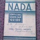 VIntage NADA Offiicial Car Guide Eastern Ed Jan 1973  070716479