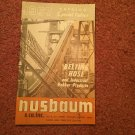 VIntage 1967 Husbaun Belting Hose Catalog 070716480