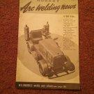 Hobart Arc Welding News Vol V. No. 1 Welded Backdoor Steps 070716544