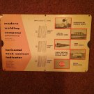 1957 Modern Welding Company Tank Content Indicator Slide Rule 070716543
