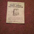 Vintage Dwell Angle and Tachometer Model BT-162  070716487