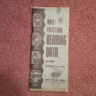 Vintage 1949 UMS Anti-Friction Bearing Data Catalog A-357 070716523