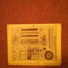 Vintage Montgomery Wars Mower Manual Model 8105B 070716521