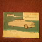 Vintage Pontiac Ad, Local Parkersburg, WV  Skinny Motor 070716498