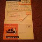 Vintage Mopar Water Pump Ad Local Parkersburg, WV  Skinny Motor 070716498
