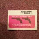 Crosman Air Gun Manual Model 357six & 357four 070716574