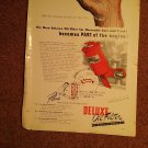Vintage Magazine Ad The New Deluxe Oil Filter  070716553