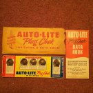 Vintage Auto-Lite Plug Check Tool with Instruction Book  070716551