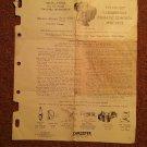 1937-1952 Carburetors Climatic Control Setting Etc   070716549