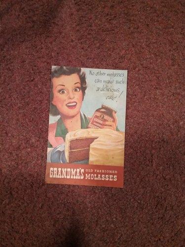 1946 Grandma's Molasses Cookbook, booklet  070716606