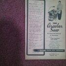 1952 The Circular Saw Craftsman Illustrated Operation Manual NO 9.-2926 070716624