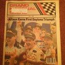 July 6, , 1989 Grand National Scene Magazine NASCAR Allison 070716688