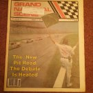 August 10 1989 Grand National Scene Magazine NASCAR NEW PIT ROAD 070716691