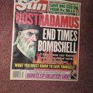 Sun Magazine October 22, 2002 Nostradamus  070716731