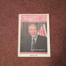 The Scottish Rite Magazine March 1990 Sen. Alan Simpson 070716738