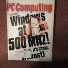 Vintage Magazine Pc Computing , Windows at 500 MHZ 070716746