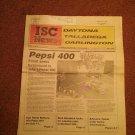 ISC News Vol 3, No 4, May 1989 Pepsi 400  070716749