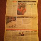1989 Sports Section Bristol Herald, Richard Petty Fails To Qualify 070716657