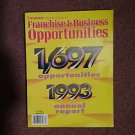 Entrepeneur Magazine Franchise & Business Ops 1993 Report 070716651