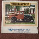 Vintage 1989 Workhorses of Yesteryear Calendar, Local Ads, Wheeling   070716452