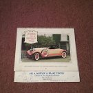 Vintage 1978 Workhorses of Yesteryear Calendar, Local Ad, Parkersburg 070716453