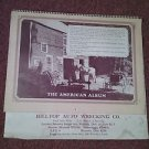 Vintage 1975 The American Album Calendar Harley Ad, Local Ad 070716454