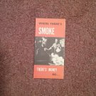 Vintage Booklet (Trac Size) Where's There's Smoke There's Money, Litho  070716753