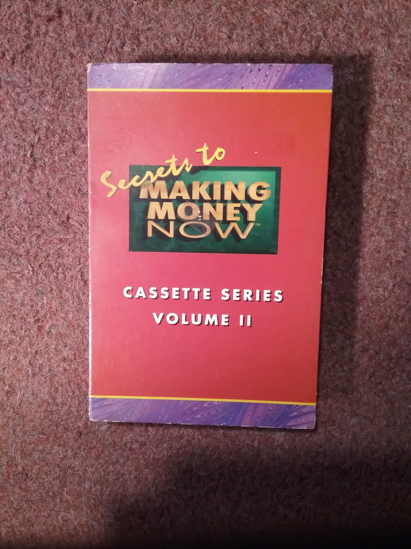 Set Completer Volume II of Secrets to Making Money Cassette 070716758