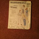 McCalls Pattern, 5 Hour Jeans Size 6326  070716763