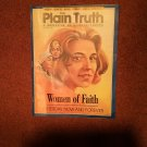 Plain Truth Magazine, August 1991 Women of Faith   70716791