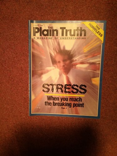 Plain Truth Magazine, January 1989, Stress    70716793