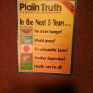 Plain Truth Magazine, Feb 1989 In the Next 5 Years  70716799