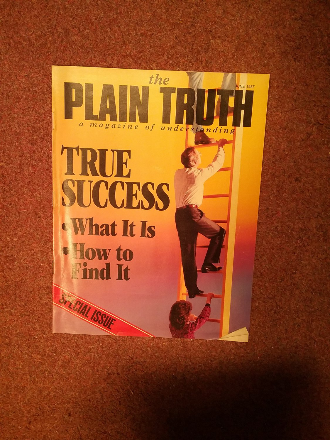 Plain Truth Magazine, June 1987 True Success 70716808