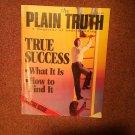 Plain Truth Magazine, June 1987 True Success 70716808