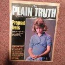Plain Truth Magazine,  Sept Preganant Teens 70716815