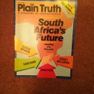 Plain Truth Magazine, April 1988 South Africa's Future   70716825