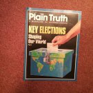 Plain Truth Magazine, October 1988 Key Elections 70716827