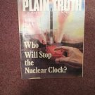 Plain Truth Magazine, November-December 1984 Who will stop the Nuclear Clock?  70716830