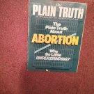 Plain Truth Magazine, May 1985 Abortion   70716832