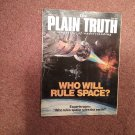 Plain Truth Magazine, June 1985 Who will Rule Space    70716833