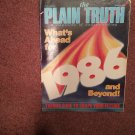 Plain Truth Magazine, January 1986 Whats ahead for 1986 70716836