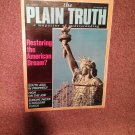Plain Truth Magazine, July-August 1986 Restoring the American Dream?  70716840