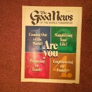 The Good News Magazine, April-May 1987 Questions  070716873