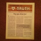 Guardian of Truth Magazine, Aug 2, 1984  Vol XXVIII No 15,  070716973