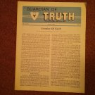 Guardian of Truth Magazine, July 7, 1983  Vol XXVII No 7,  070716975