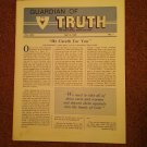 Guardian of Truth Magazine, April 4, 1985 Vol XXIX No 7,  070716979